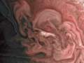 NASA показало фото бури на Юпитере