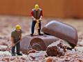 Сладкое наводнение: улицу в немецком городе затопила тонна жидкого шоколада