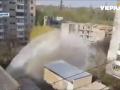 В Кропивницком во время испытаний теплосети прорвало трубу