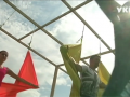В Черкассах набирает популярности экзотическая флай-йога