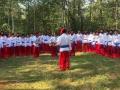 Хасиды оделись казаками и спели Гимн Украины на границе