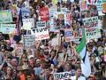 В Лондоне 250 тысяч человек вышли на акцию протеста против Трампа