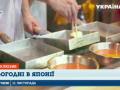 В Японии экзотические для украинцев блюда продаются прямо на улице