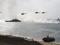 РФ перебрасывает группу кораблей в Черное море