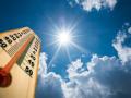 В Киеве температура в июле превысила климатическую норму