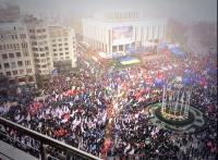 Евромайдан на Европейской площади прекращает свое существование