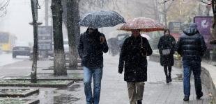 В Украине ожидается потепление и дожди