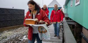 Украинская церковь в Антарктиде стала единственной, где состоялась полноценная служба