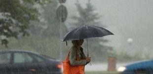 В Украине везде дождь, местами град и шквалы