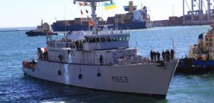 Французский минный тральщик НАТО прибыл в Одессу на учения
