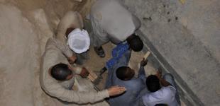 В Египте открыли 30-тонный саркофаг IV века до нашей эры