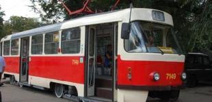 В Киеве временно закрывают три трамвайных маршрута