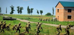 Украинские и британские военные отработали «бой в урбанизированной местности»