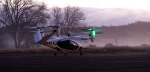 NASA тестує аеротаксі з вертикальним зльотом