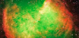 Телескоп NASA показав «яблучну» туманність у сузір'ї Лисички