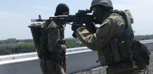 В Донецке штурмовали воинскую часть