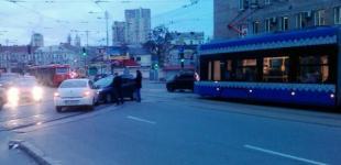 ДТП в Киеве парализовало движение трамвайных маршрутов