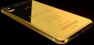 iPhone X за $70 тысяч: американцы показали золотой смартфон