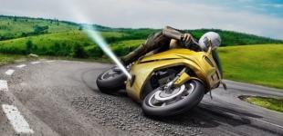 Для мотоциклов придумали защиту от падения