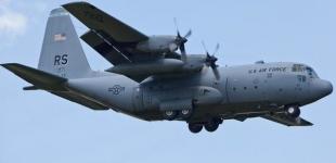В США разбился военно-транспортный самолет С-130 Hercules