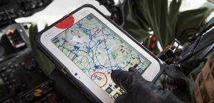 Военная авиация Украины откажется от бумажных карт