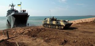 Украинские военные провели масштабные учения на Азове