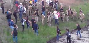 В интернете появилось видео массовой драки на Осокорках