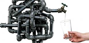 В четырех районах Киева перекроют холодную воду