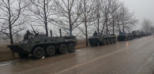 В Славянск вошли БТРы