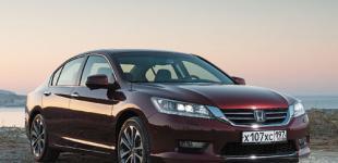 Гармоничный «Аккорд»: тест-драйв седана Honda Accord