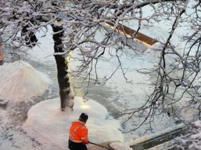 В Украину снова пришло похолодание