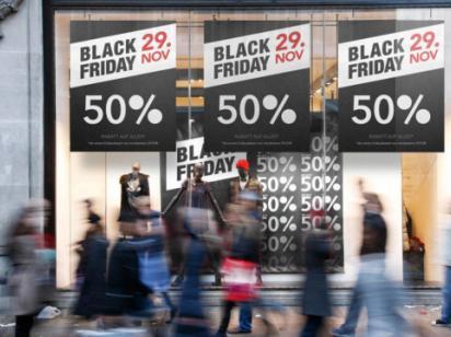 В «черную пятницу» большинство товаров стоят так же, как и в начале года