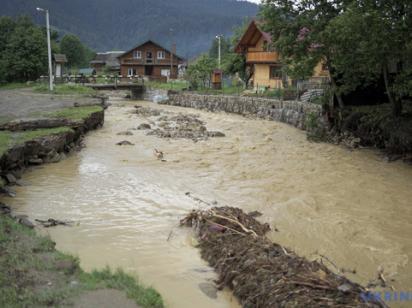 В трех областях ожидают поднятия уровней воды в реках