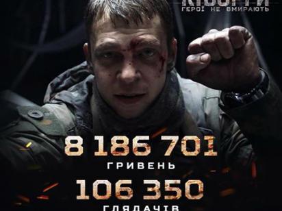 Фильм Киборги побил рекорд сборов в Украине