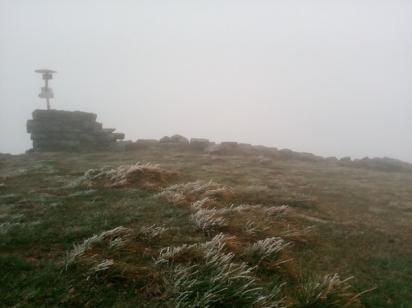 В Карпатах пошел мелкий снег