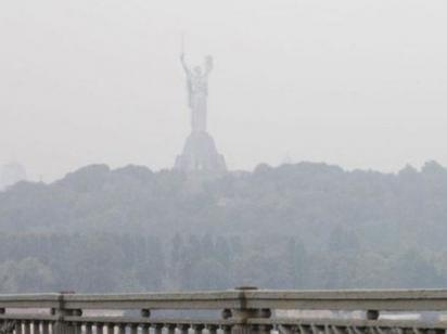 """В Киеве """"зашкаливает"""" загрязнение воздуха"""