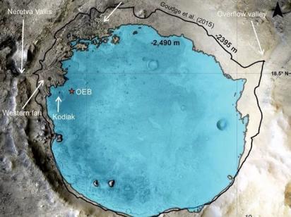 На Марсе точно была вода: NASA подтвердило существование древнего озера