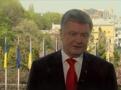 Порошенко поблагодарил русскоязычных граждан Украины