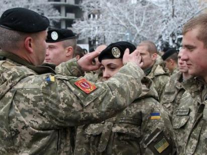 Украинским военным разрабатывают символику