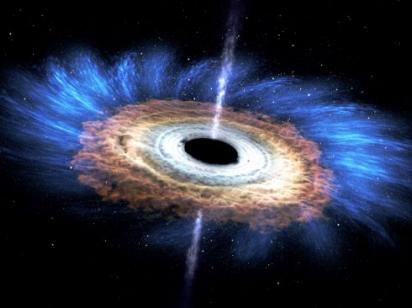Ученые обнаружили гигантскую черную дыру в карликовой галактике