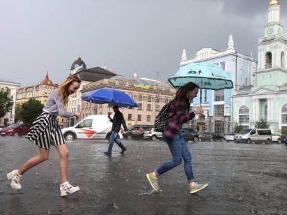 Синоптики дали прогноз погоды до конца недели