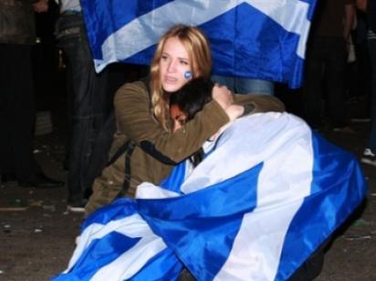 Шотландия отвергла независимость: 55,4% против 44,6%