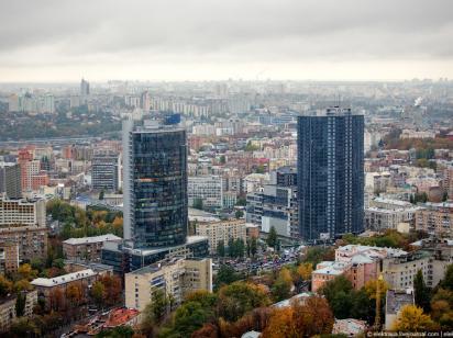 В Киеве пустуют почти 20% офисных помещений