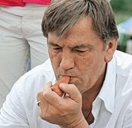Тройные стандарты президента Ющенко