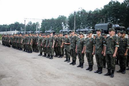 В Беларусь прибывают подразделения и военная техника Вооруженных сил РФ
