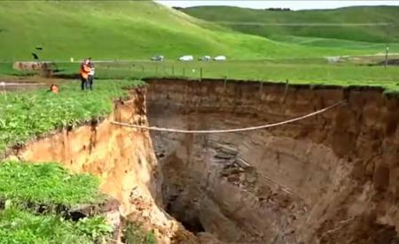 В Новой Зеландии обнаружили гигантский разлом