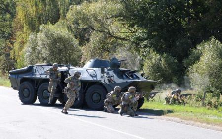 СБУ провела масштабні навчання поблизу кордону з РФ