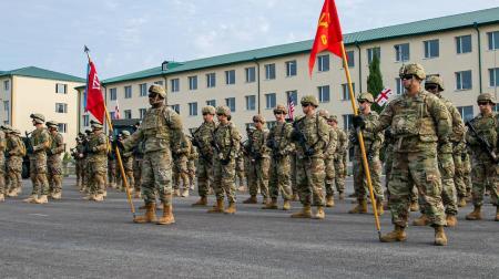 НАТО проводит под Тбилиси учения с участием армии Грузии