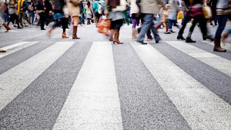 В Киеве за 2019 год оштрафовали три тысячи пешеходов
