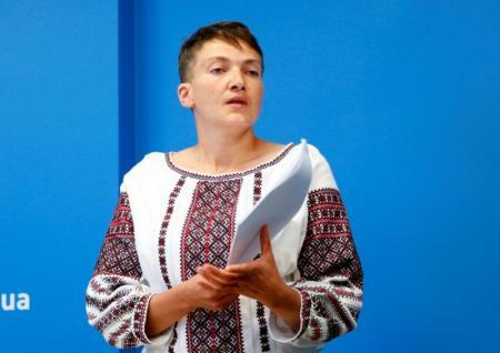 Еврейское иго Надежды Савченко. Реакция соцсетей